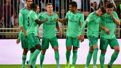 Real Madrid op cruisecontrol voorbij Valencia naar finale Supercopa, Kroos scoort olympisch doelpunt
