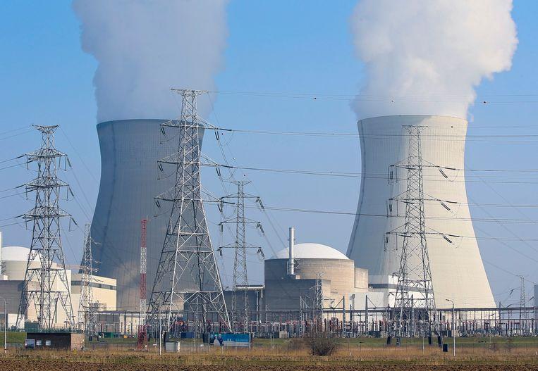 De kerncentrale in Doel. Beeld EPA