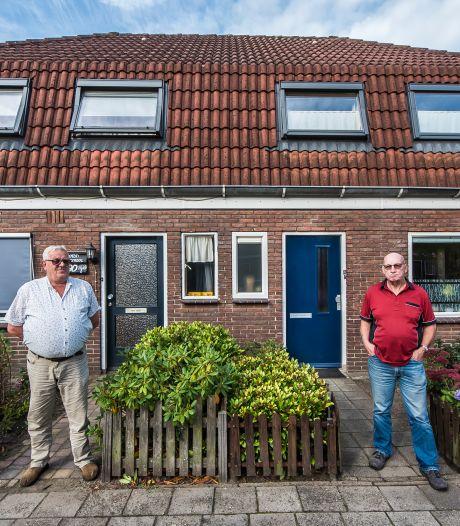 Buurmannen vrezen sloop van hun huurwoningen in Haaksbergen: 'Als ik hier weg moet, ben ik Nico kwijt'