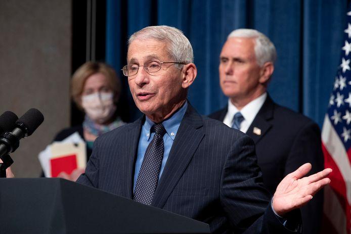 Anthony Fauci, directeur de l'Institut américain des maladies infectieuses