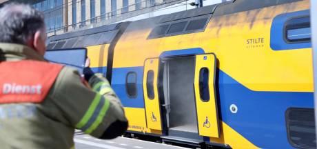 Politie houdt man (48) aan voor treinbrand op centraal station in Arnhem