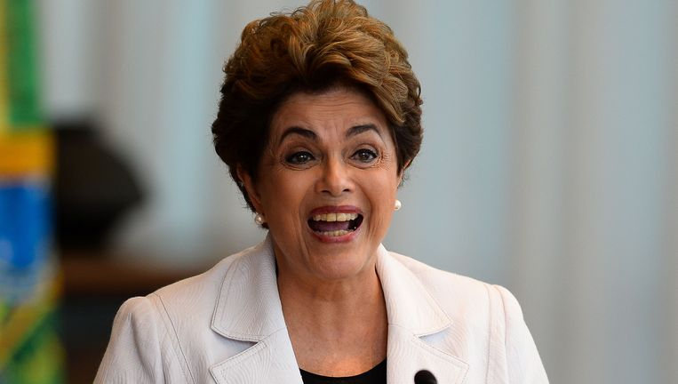 Dilma Rousseff Beeld AFP