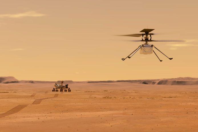 """Le petit hélicoptère """"Ingenuity"""""""