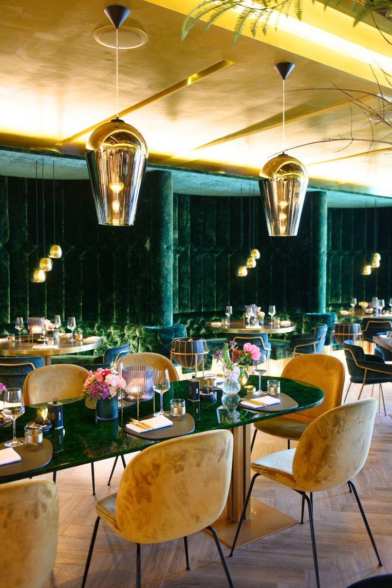 Restaurant Goud in Rotterdam. Beeld null