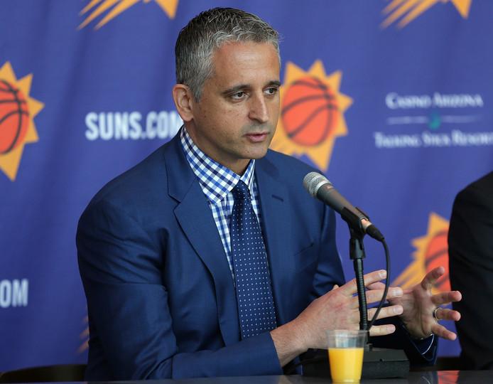 Phoenix Suns-coach Igor Kokoskov.