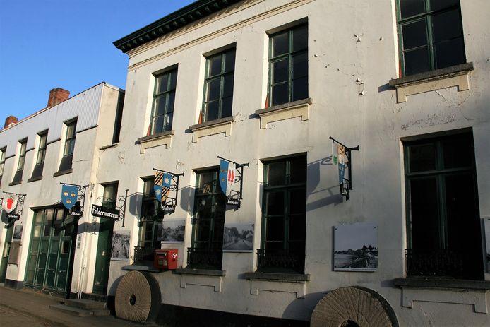 Het Poldermuseum aan de Tolhuisstraat in Lillo.