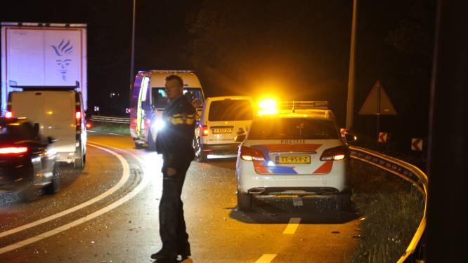Ongeluk zorgt voor vertraging op N35 bij Mariënheem, bestuurder gewond