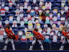 Un stade repeuplé façon South Park