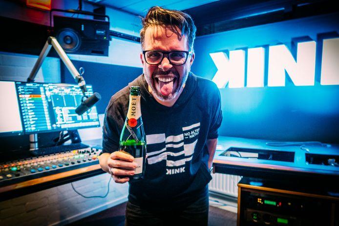 De champagne kan open bij Michiel Veenstra en KINK.