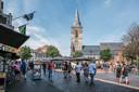 Gezellige drukte gisteren op de Markt in Winterswijk.