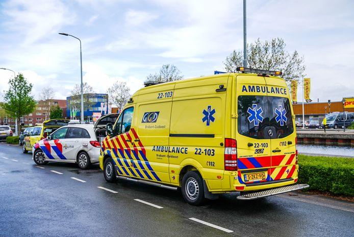 Het ongeluk gebeurde aan de Kanaaldijk-Zuid in Eindhoven.