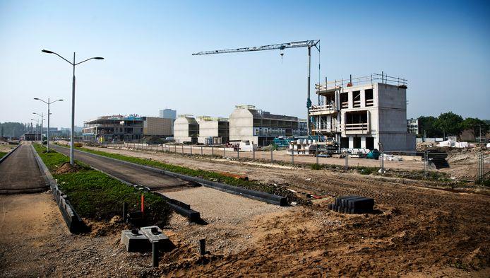 Het appartementencomplex wordt in de Coendersbuurt gebouwd.