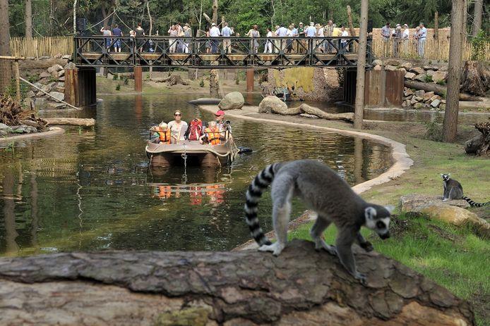 De Grote Wildernis is de nieuwste attractie van DierenPark Amersfoort.