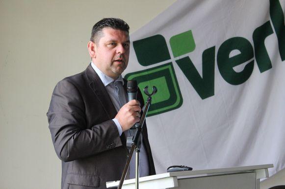 Peter De Leeuw, directeur van afvalintercommunale Verko. Dendermonde