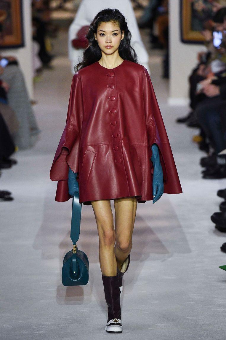 Modeshow Lanvin, Parijs