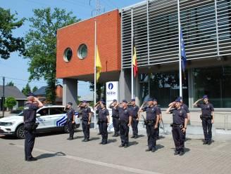 Politie Beringen-Ham-Tessenderlo loeit sirenes voor slachtoffers overstromingen