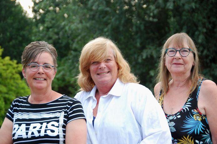 Marianne Maris, Jeanette Saarberg en Riene Verburgh vormen de partij Hart Voor Alle Kernen. Verburgh deed vandaag namens de partij aangifte tegen SGP-leider Kees van der Staaij.