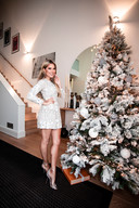 Sylvie Meis en haar kerstboom