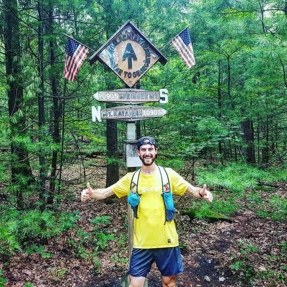 De Gentse tandarts Karel Sabbe liep de Appalachian Trail.