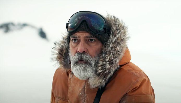 """George Clooney sur le tournage de """"Midnight Sky"""""""