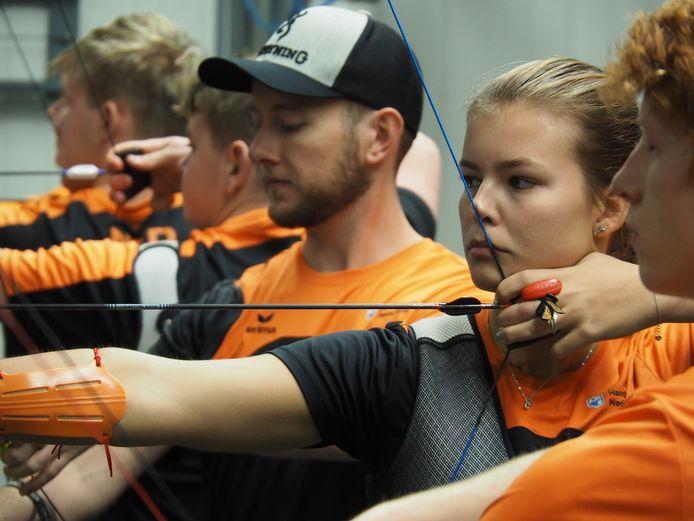 Laura van der Winkel mikt op een plekje in de top 16 van de EK.