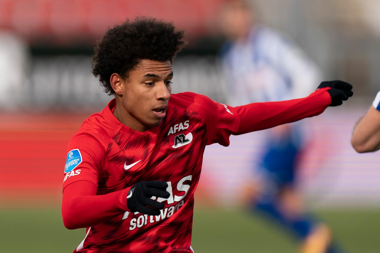 Het is de vraag of Calvin Stengs in actie kan komen tegen Feyenoord.