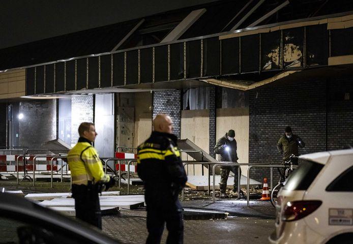 De Poolse supermarkt in het winkelcentrum Beverhof in Beverwijk was meermaals het doelwit.