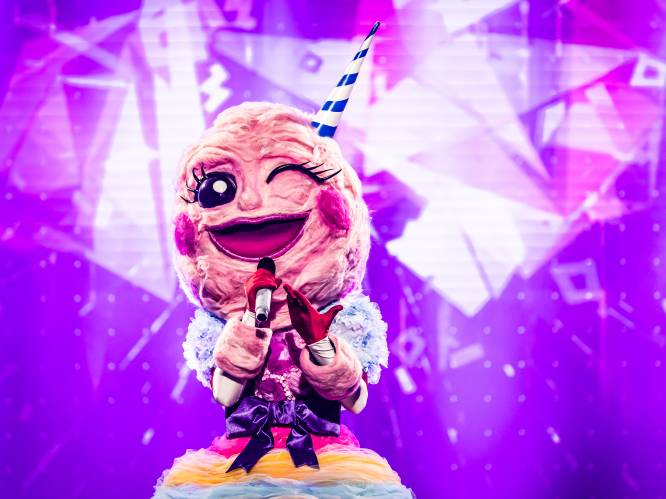 """Suikerspin wordt ontmaskerd in 'The Masked Singer': """"Alles deed pijn, maar het is me toch gelukt"""""""