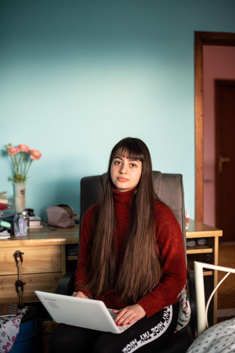 Tatia Balamtsarashvili. Beeld Wouter Maeckelberghe