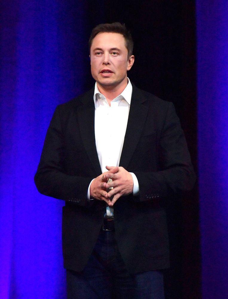 Elon Musk Beeld EPA