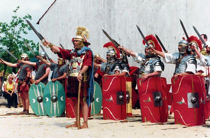Romeinen in Archeon.