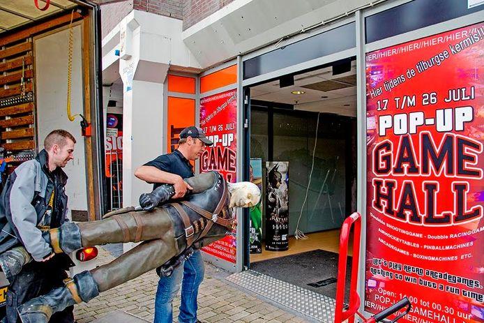 Eerste Pop-Up Game Hall ooit op Tilburgse kermis