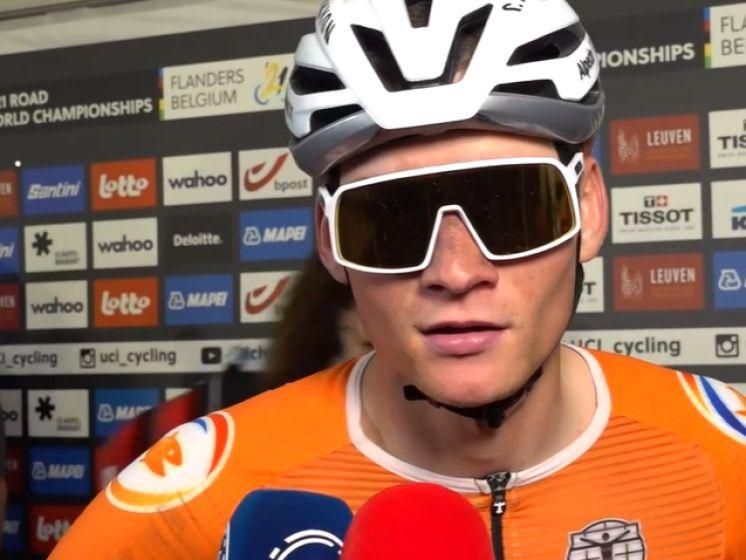 """Mathieu van der Poel: """"Ik had geen overschot om aan te vallen"""""""