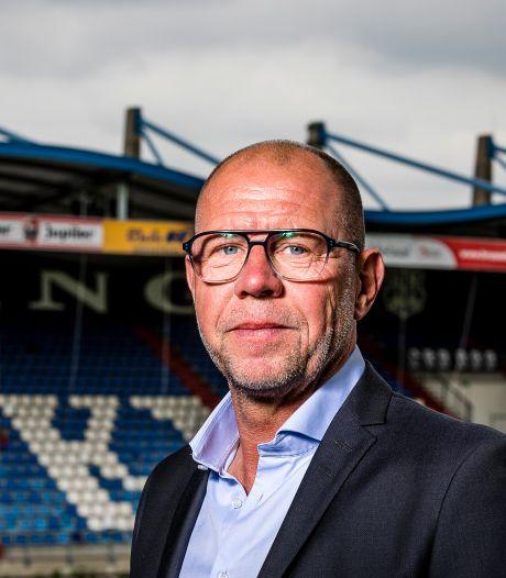 Trainer Fred Grim gepresenteerd bij Willem II: 'Ach, wat is een gespreid bedje?'