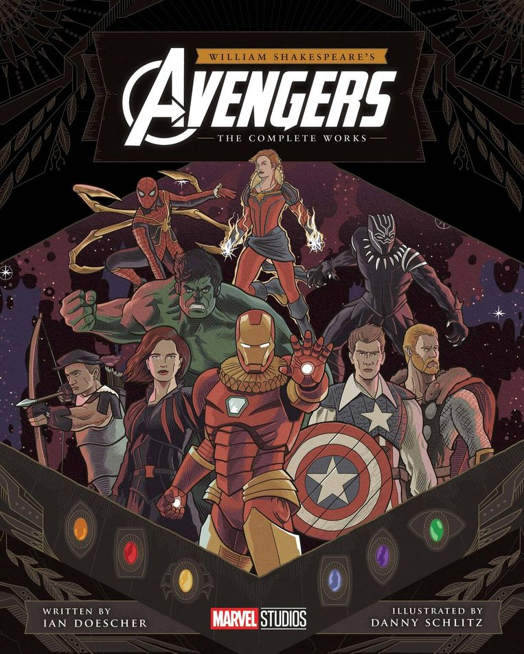 William Shakespeare's Avengers Beeld Marvel Studios
