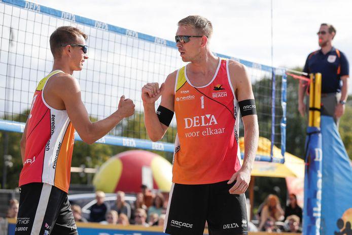 Stefan Boermans en Yorick de Groot gaan voor winst in Breda.