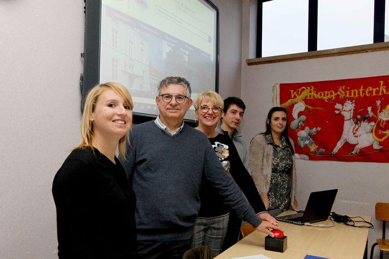 ICHTEGEM / lancering nieuwe website scholen (foto Coghe)