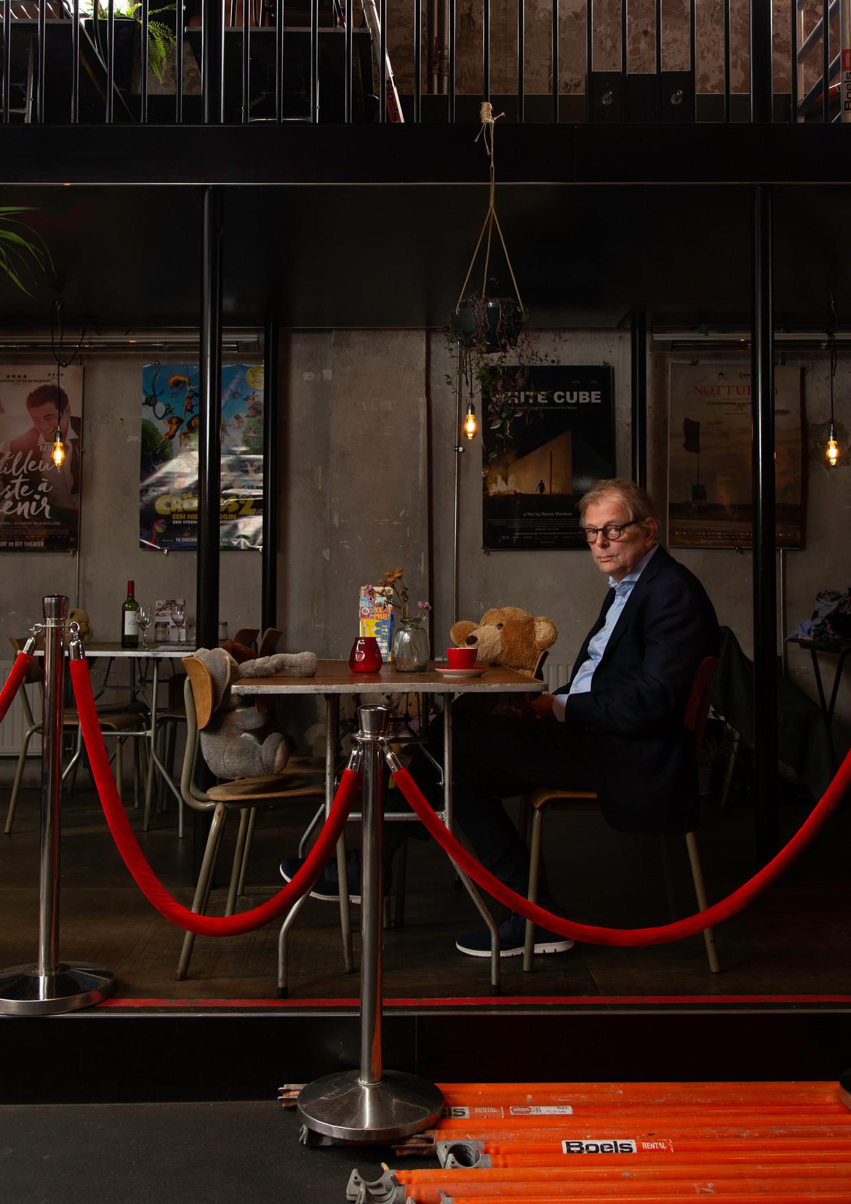 Alex de Ronde, directeur van filmtheater Het Ketelhuis. Beeld Susanne Stange