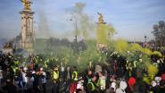 Nog 40.000 'gele hesjes' op straat in Frankrijk