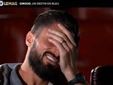 Ému par un message de ses enfants, Olivier Giroud craque dans Téléfoot