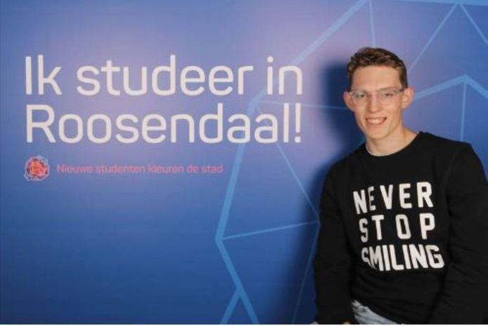 Nieuwe campagne voor studenten in Roosendaal.