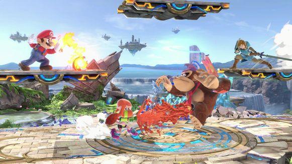 Een vechtgame met alle Nintendo-totemfiguren. Zonder dat er bloed uit de zere hoofdjes stroomt, natuurlijk.