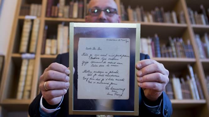 Gedichtje Anne Frank geveild voor 140.000 euro