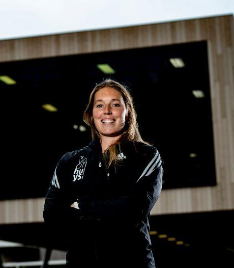 Kippenvel na 572 dagen zonder wedstrijd, discuswerpster Corinne Nugter (29) uit Emmeloord is terug