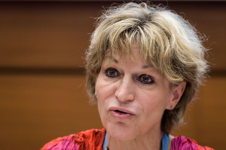 VN-rapporteur Agnès Callamard. Beeld AFP
