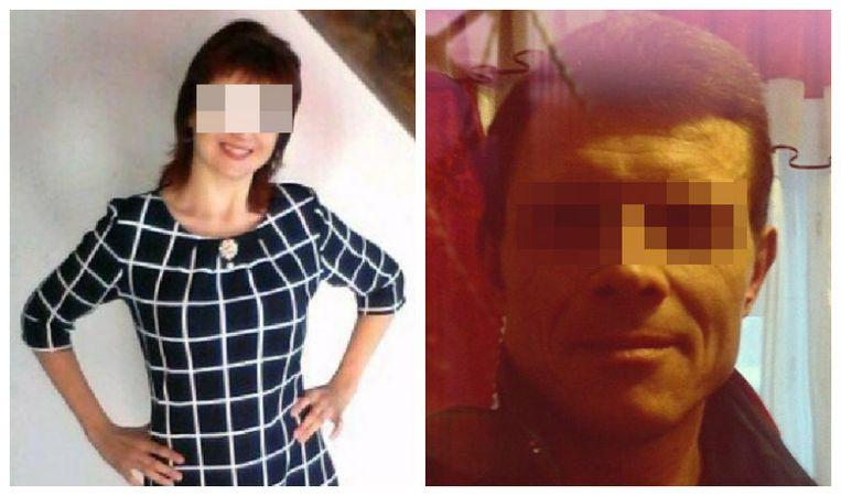 Links Tamara net voor haar date, rechts een foto die in de Russische media circuleert en Anatoly Yezhkov zou voorstellen.