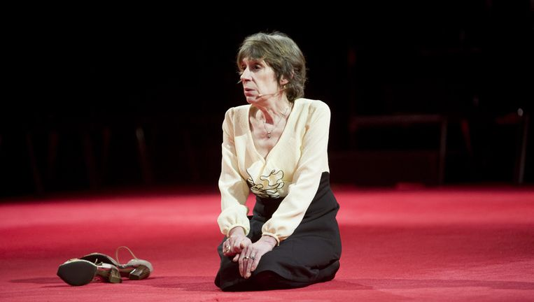 De Haagse actrice ontving tijdens haar carrière tweemaal de Theo d'Or. Foto ANP Beeld