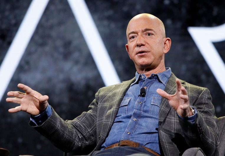 CEO Jeff Bezos van Amazon. Beeld AP