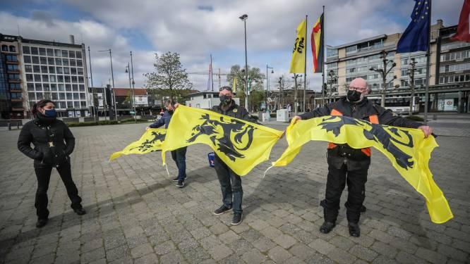"""Rechts Radicale Actie voert vreedzaam protest tegen Vivaldi-coalitie en coronamaatregelen: """"Wij willen onze vrijheid terug"""""""