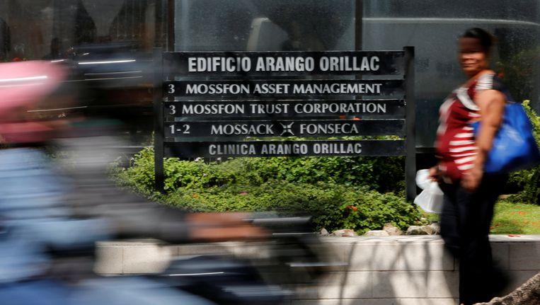 Het kantoor van Mossack Fonseca in Panama-Stad. Beeld Reuters